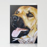 Mans Best Friend - Dog I… Stationery Cards