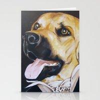 Mans Best Friend - Dog I… Stationery Cards