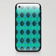 Aqua iPhone & iPod Skin