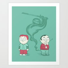 Silent and Deadly Art Print