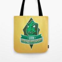Gorn Rockthrowers Tote Bag