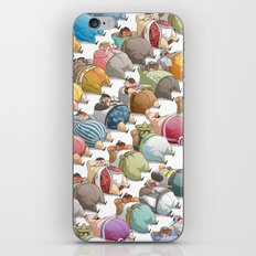 Hardiness & Determination iPhone & iPod Skin