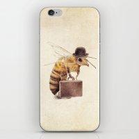 Worker Bee iPhone & iPod Skin