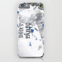 Don't Panic iPhone 6 Slim Case