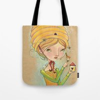 The Only Bee in My Bonnet Tote Bag