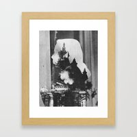 Feuer Framed Art Print
