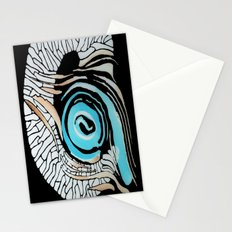 Horn-swirl inv Stationery Cards