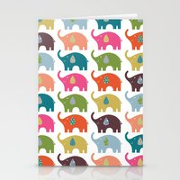Elephant Life Stationery Cards
