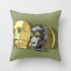 C Thru PO Throw Pillow
