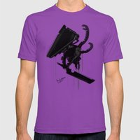 Pyramid Head Evolve Game… Mens Fitted Tee Ultraviolet SMALL