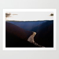 Morning View From Cooper… Art Print