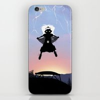 Storm Kid iPhone & iPod Skin