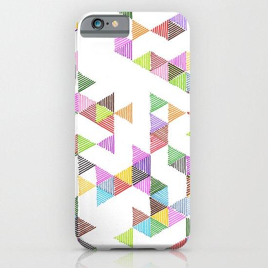 Technicolour Raindrops iPhone & iPod Case