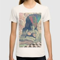Love Is A Losing Game Womens Fitted Tee Natural SMALL