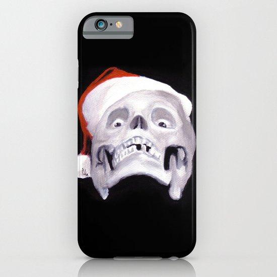 Black XMas. Bastard Son Of Santa iPhone & iPod Case