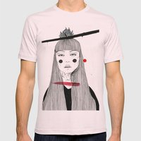 Lover in Me Mens Fitted Tee Light Pink SMALL