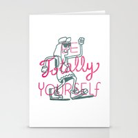 Be Totally Yourself Stationery Cards