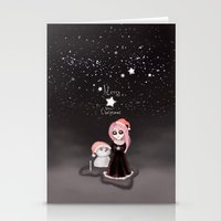 Black Xmas: A Merry Gothic Christmas Stationery Cards