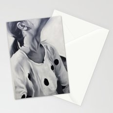 Girl looking up Stationery Cards