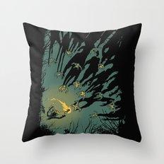 Zombie Shadows Throw Pillow