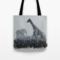 The Tall Grass Tote Bag