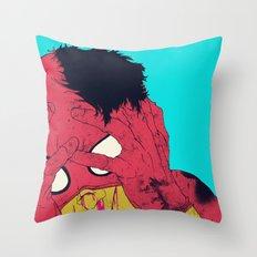 Thudd! Throw Pillow