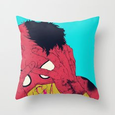 Thudd! Throw Pillow