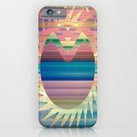 Chevron Sunny Stripes iPhone 6 Slim Case