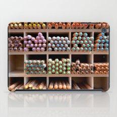 Coloured pencils iPad Case