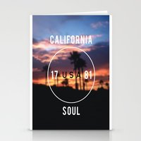 California.  Stationery Cards