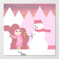 Fantasy Ice Cream Canvas Print