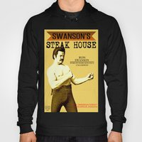 Ron Swanson  |  Steak House Parody |  Parks and Recreation Hoody