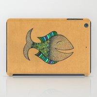 happy fish #4 iPad Case