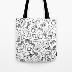Harry Potter Horcruxes and Items Tote Bag