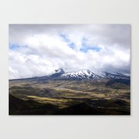 Mountain Fields Canvas Print
