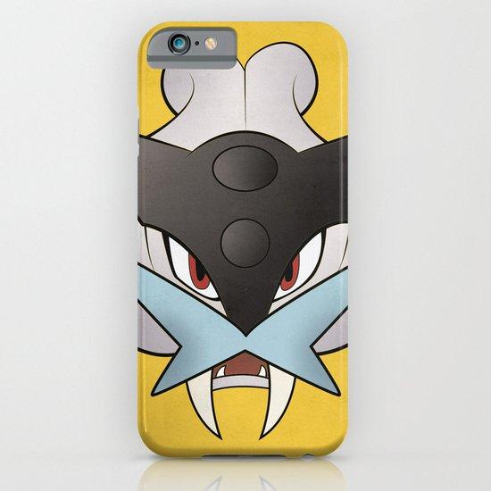 #243 Raikou - Legendary Dog Pokemon Minimalistic Pokemon Poster iPhone & iPod Case