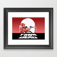 yawn of the dead Framed Art Print