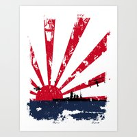 Imperial Japanese Navy Art Print
