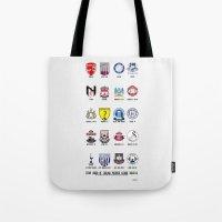 Alternate Football Teams Tote Bag