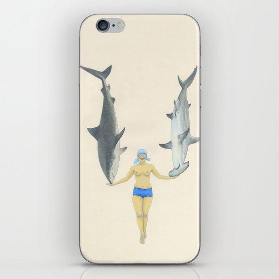The Shark Charmer iPhone & iPod Skin