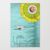 Canvas Print featuring Spacecraft by Alexandros Papalexis
