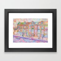 Wandering Amsterdam - Co… Framed Art Print