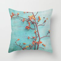 She Hung Her Dreams On B… Throw Pillow