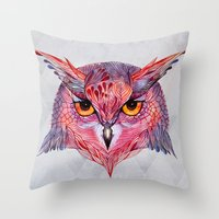 Owla Owl Throw Pillow