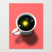 Cup Of Universe Canvas Print