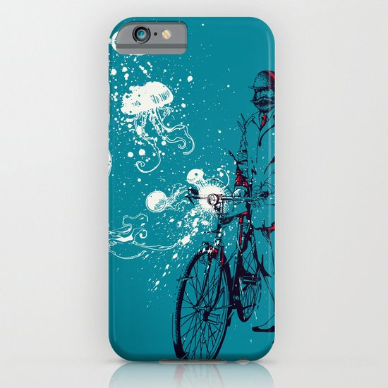 Journey in Blue iPhone & iPod Case