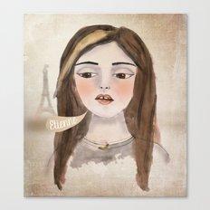 Anna Banana Canvas Print