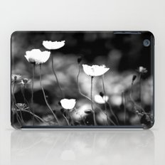 Flowers in Black and White iPad Case