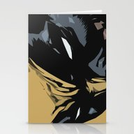 Stationery Cards featuring Wolverine by Chad Madden