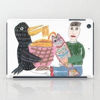 Lamen Bird. iPad Case